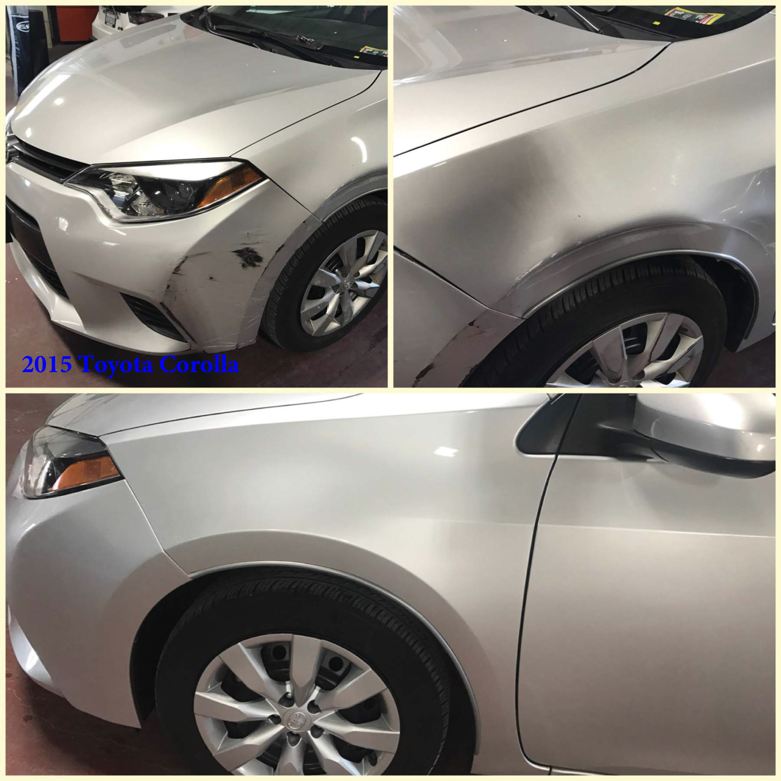 Toyota Corolla Paint Job RideShare Program